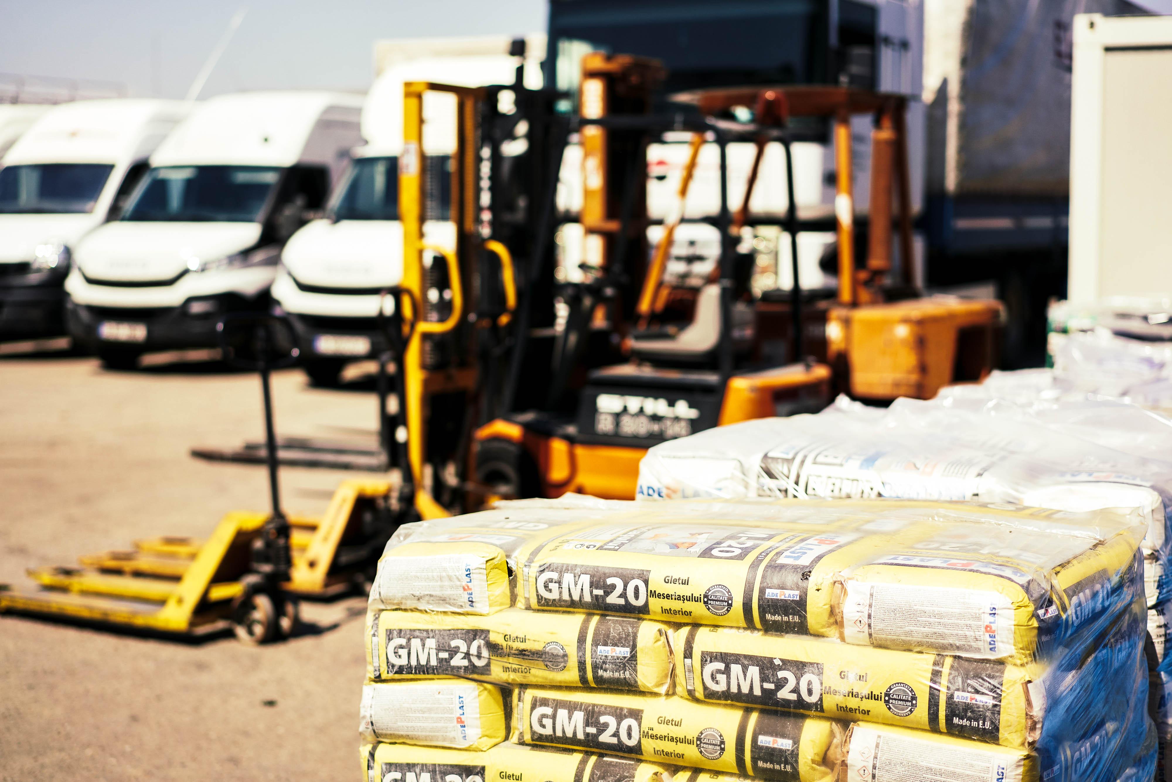 Distributie materiale de constructie
